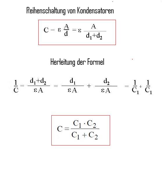 kondensator aufladen formel